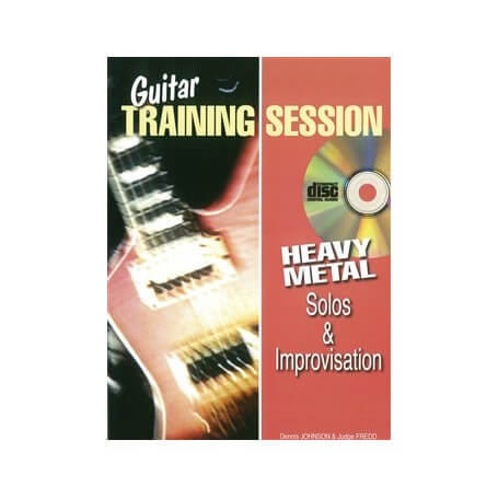 Guitar Training Session: Heavy Metal Solos & Improvisation (Book/CD)