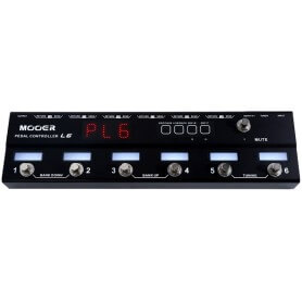 MOOER PCL6 pedal controller