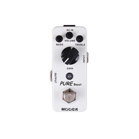 MOOER PURE Boost pedal - vaiconlasigla; strumenti musicali; vaiconlasigla shop; vaiconlasigla strumenti musicali; music