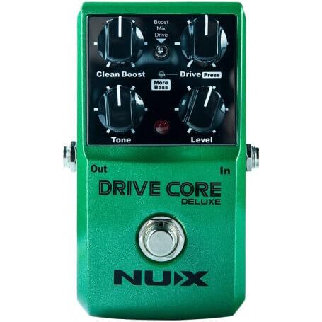 NUX STOMPBOX DRIVE CORE DELUXE - vaiconlasigla; strumenti musicali; vaiconlasigla shop; vaiconlasigla strumenti musicali