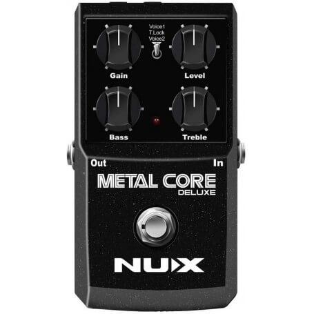 NUX STOMPBOX METAL CORE DELUXE - vaiconlasigla; strumenti musicali; vaiconlasigla shop; vaiconlasigla strumenti musicali