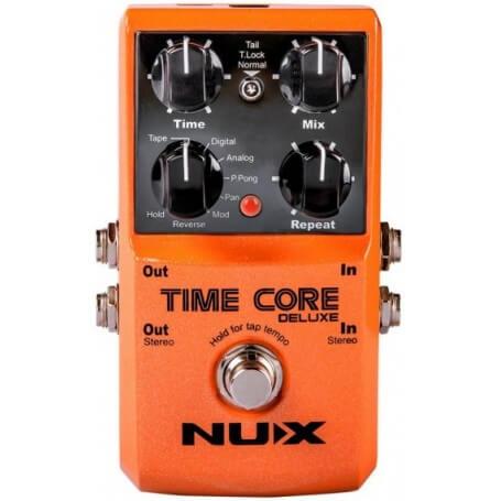 NUX STOMPBOX TIME CORE DELUXE - vaiconlasigla; strumenti musicali; vaiconlasigla shop; vaiconlasigla strumenti musicali;