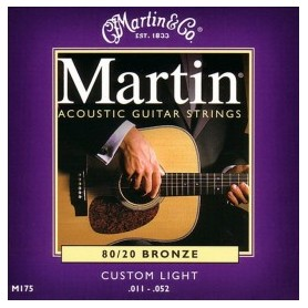 MARTIN M175 - 80/20 Bronze Custom Light