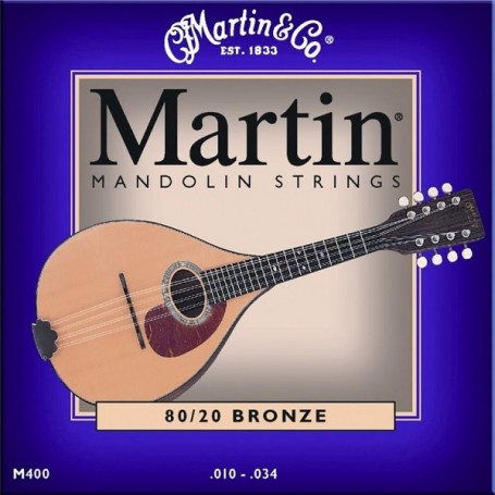 Martin M400 80/20 Bronze Light Mandolin Strings - vaiconlasigla; strumenti musicali; vaiconlasigla shop; vaiconlasigla s