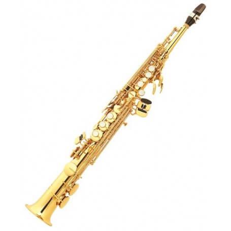 JUPITER JPS 547 GL SAX SOPRANO - vaiconlasigla; strumenti musicali; vaiconlasigla shop; vaiconlasigla strumenti musicali