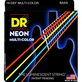 DR STRINGS NMCB 45 NEON MULTI-COLOR 45-105 MEDIUM