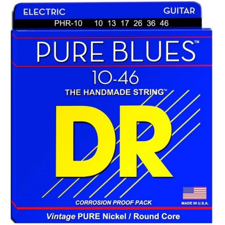 DR STRINGS PHR-10 Pure Blues