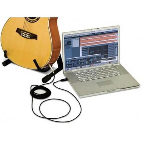 ALESIS GUITARLINK PLUS USB CAVO USB / JACK PER CHITARRA - vaiconlasigla; strumenti musicali; vaiconlasigla shop; vaiconl
