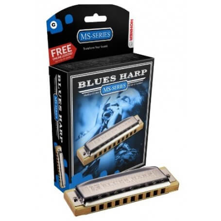 HOHNER M533086 BLUES HARP MS 20 G - vaiconlasigla; strumenti musicali; vaiconlasigla shop; vaiconlasigla strumenti music