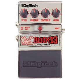 DIGITECH Black-13 Scott Ian Signature
