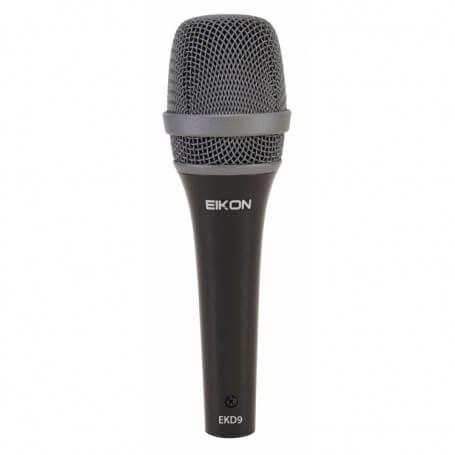 EIKON EKD9 Microfono dinamico professionale Super-cardioide - vaiconlasigla; strumenti musicali; vaiconlasigla shop; vai