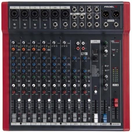 PROEL MQ12USB mixer - vaiconlasigla; strumenti musicali; vaiconlasigla shop; vaiconlasigla strumenti musicali; music ins
