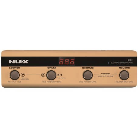 NUX NMP-4 Pedaliera controllo bluetooth per NUX STAGEMAN AC50