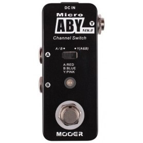 MOOER Micro ABY MKII Box , switcher A/B