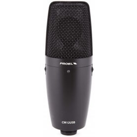 PROEL CM12USB  Microfono a condensatore USB