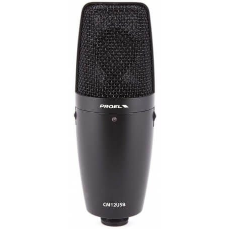PROEL CM12USB  Microfono a condensatore USB - vaiconlasigla; strumenti musicali; vaiconlasigla shop; vaiconlasigla strum