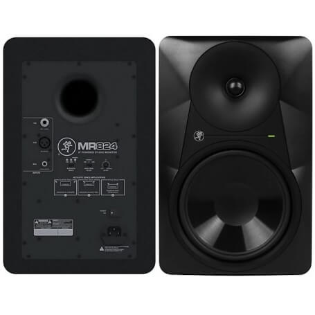 MACKIE MR824 STUDIO MONITOR BIAMPLIFICATO 8 85W