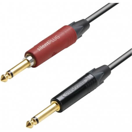 Adam Hall Cables K5 IPP 0600 SP - Cavo strumenti Neutrik silentPLUG - vaiconlasigla; strumenti musicali; vaiconlasigla s