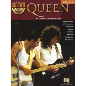 QUEEN Guitar Play-Along Volume 112
