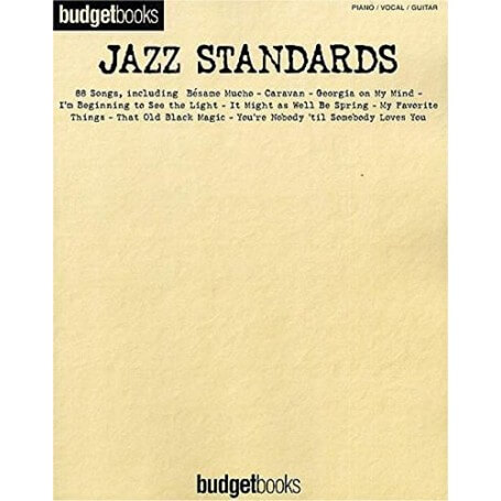 Jazz Standards: Budget Books - vaiconlasigla; strumenti musicali; vaiconlasigla shop; vaiconlasigla strumenti musicali;