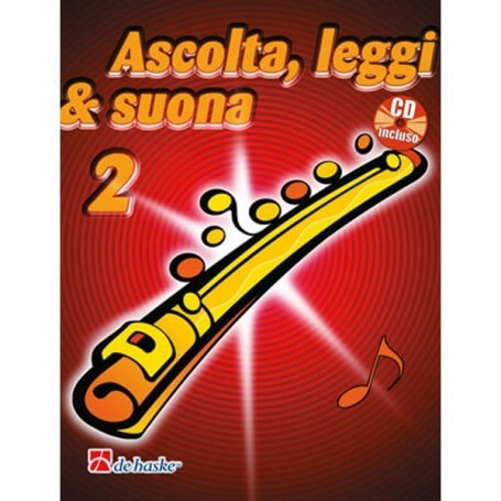 Ascolta, Leggi & Suona Vol 2 Metodo per Flauto con CD - vaiconlasigla; strumenti musicali; vaiconlasigla shop; vaiconlas