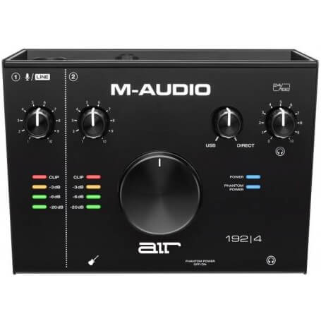 M-AUDIO AIR 192 | 4, Interfaccia audio/MIDI USB 2-In / 2-Out - vaiconlasigla; strumenti musicali; vaiconlasigla shop; va
