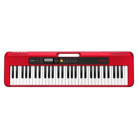 CASIO Casiotone CT S200 RED tastiera - vaiconlasigla; strumenti musicali; vaiconlasigla shop; vaiconlasigla strumenti mu