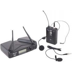 EIKON Wm700h RADIOMICROFONO UHF PLL–TRASMETTITORE BELT-PACK