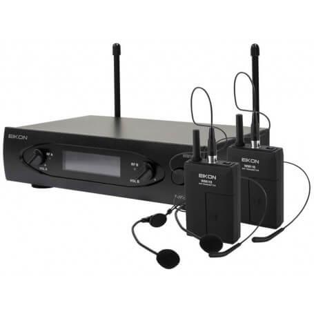 EIKON WM700DH radiomicrofono doppio archetto - vaiconlasigla; strumenti musicali; vaiconlasigla shop; vaiconlasigla stru